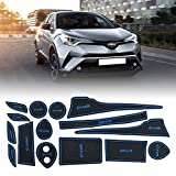 Non-slip Car Cup Mat with flame retardant, durability, Car Styling Interior Rubber Mat Accessories(15 pcs)
