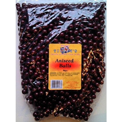 Tilley's Aniseed Balls Sweets 3kg Bag