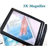 Funwill New A4 Full pagina foglio grande lente d' ingrandimento lettura aiuto lente di Fresnel
