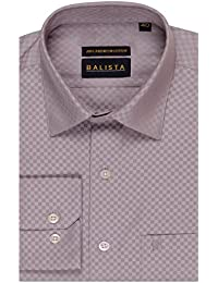 BALISTA MEN'S COTTON REGULAR FIT FORMAL SHIRT