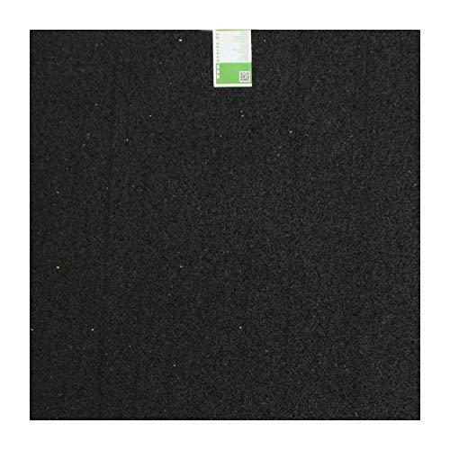acerto Antivibrationsmatte Gummigranulaten, 60x60x0,6cm Waschmaschinen-Unterlage