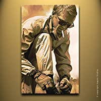 Steve McQueen artista opera originale firmato pittura poster stampa artistica su tela # 1, 26