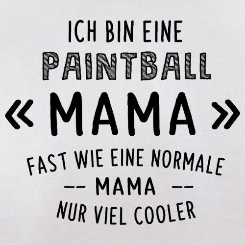 Ich bin eine Paintball Mama - Herren T-Shirt - 13 Farben Weiß