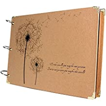 VStoy Scrapbook Vintage Photo Albums Dandelion Printed Surface Ideal Valentines Day Gifts by VStoy