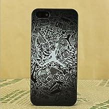 Carcasa rígida de plástico para iPhone 5, 5S, 5SE, 6 y6S, diseño de Michael Jordan saltando, plástico, J .10, Apple iPhone 5/5S