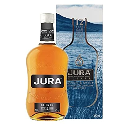 The Isle of Jura 12 Year Old Elixir Single Malt Scotch Whisky 70cl Bottle