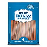 Supreme snack dentale naturale in pelle di bufalo grezza, senza conservanti Bully Sticks