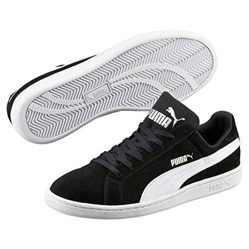 Preisvergleich Produktbild Puma Unisex-Erwachsene Smashsd Sneaker,  Schwarz (Black-White),  44.5 EU