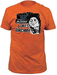 James Brown Mr. Dynamite Fitted T-Shirt