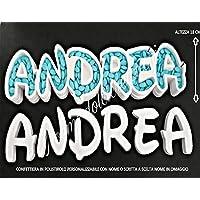 Portaconfetti con nome o scritta in polistirolo confettiera addobbi per la tua festa compleanno