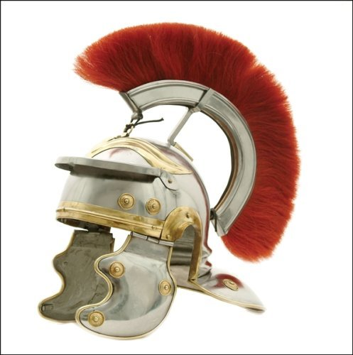 USC Trojan Fußball Full-Size Metall Replica Roman Centurion Helm (Helm Centurion Roman)