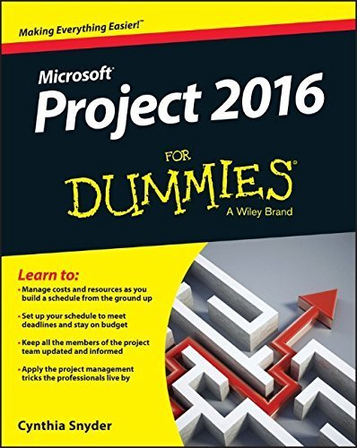 Project 2016 For Dummies by Cynthia Snyder (2016-03-21)