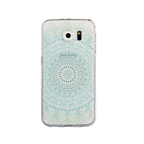 Zhinkarts Mandala Color Case Style Handy Schutz Hülle TPU Silikon Nokia Lumia 730 Color M6