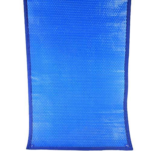 Blaue Rechteckige Pool-Solarabdeckungs-Heizdecke for Eingebaute und Oberirdische Schwimmbäder - 15,7 Mil (Size : 5.5x2.5m(18x8.2ft))