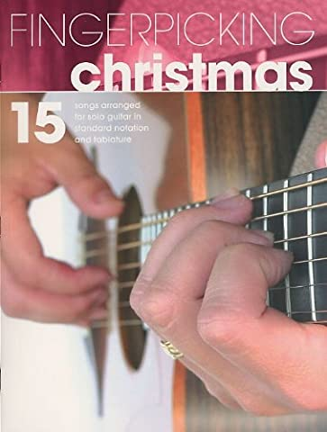 Fingerpicking Christmas Tab Book: Noten, Grifftabelle (Christmas Guitar Tab)