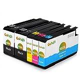 Gohepi 950XL/951XL Compatibile per Cartucce HP 950XL 951XL HP Officejet Pro 8600 8610 8620 8100 276dw 251dw 8630 8640 8660 8615 8625 - 2 Nero/Ciano/Magenta/Giallo Confezione da 5