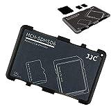 JJC Speicherkarten Etui Leichte Aufbewahrung Schutzhüllen für 2 SDXC SDHC SD karten und 4 Micro SD...