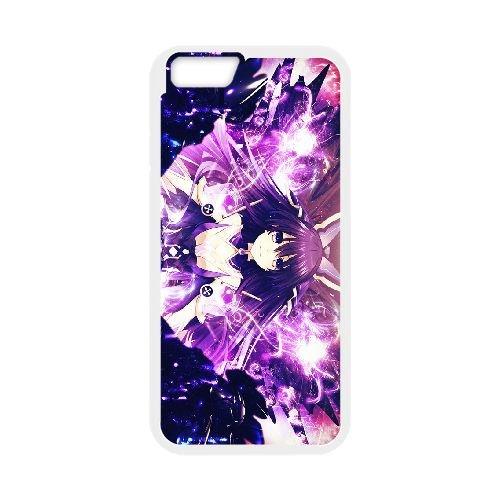 Date A Live Yatogami Tohka coque iPhone 6 Plus 5.5 Inch Housse Blanc téléphone portable couverture de cas coque EBDXJKNBO13598