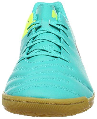 Nike Tiempox Rio III Indoor, Scarpe da calcio Uomo Multicolore (Clear Jade/Black/Volt)