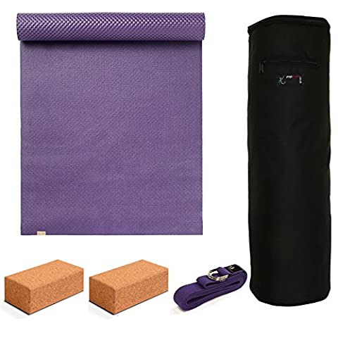 Yoga Studio - ecoYoga Starter Kit - Cork Bricks