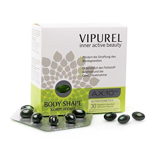 Hautpflege Kapseln mit einzigartigem Astaxanthin Wirkkomplex von VIPUREL Body Shape I Für straffe...