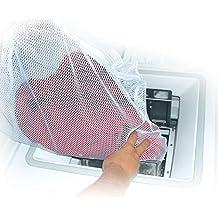 MSV MS164 - Saco para lavadora, 50 x 70 cm, poliéster, color blanco
