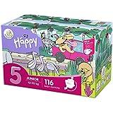 bella baby Happy Windeln Größe.5 Junior, 1er Pack (1 x 116 Stück)
