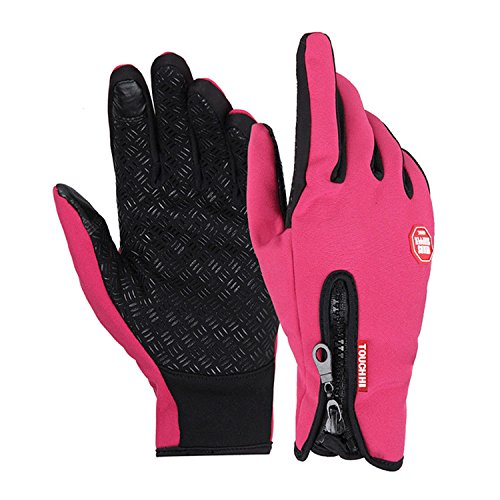 Hellodigi Touch Screen Gloves for Smart Phone,Winter Sports Gloves Keeping Warmth and Windproof Waterproof for Cycling Skiing Hiking Hunting Climbing Camping for Men Women,S,M,L,XL,XXL
