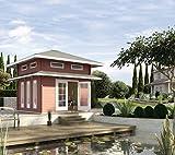 weka Weekendhaus 157, 45 mm, mit Schlafboden