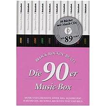 90er Jahre - 10er-Box, 10 Bücher m. 10 Audio-CDs