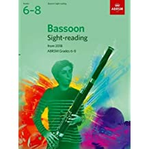 Bassoon Sight-Reading Tests, ABRSM Grades 6-8 (ABRSM Sight-reading)