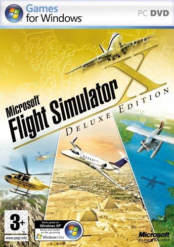 Price comparison product image Microsoft Flight Simulator X Deluxe (PC)