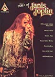 The Best Of Janis Joplin (Guitar Recorded Versions). Partitions pour Tablature Guitare(Symboles d'Accords)