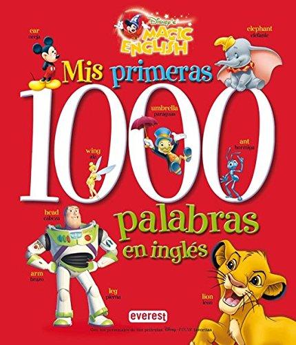 Mis primeras 1000 palabras en inglés por Walt Disney Company