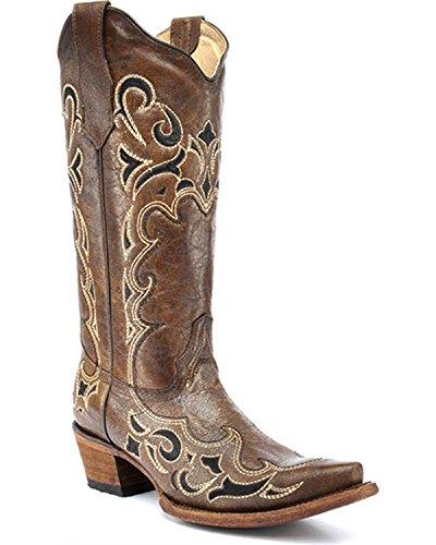 Circle G Stiefel / Circle G L5247/ Damen Stiefel / Circle G Stiefel / Damen Fashion Cowboy boots / Braune Damen Stiefel Brown