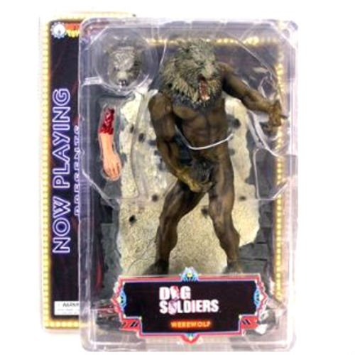 NOW PLAYING DOG SOLDIER BARON HARKONNEN MEG MUCKLEBONES  3 figuras PVC de SOTA