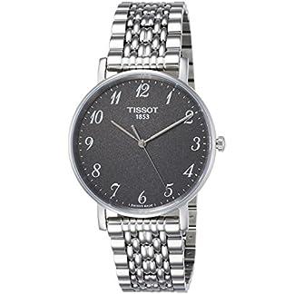 Tissot Reloj Analógico para Unisex Adultos de Cuarzo con Correa en Acero Inoxidable T1094101107200