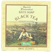 Speziali Fiorentini Tea Soap, Black, 3.3 Ounce