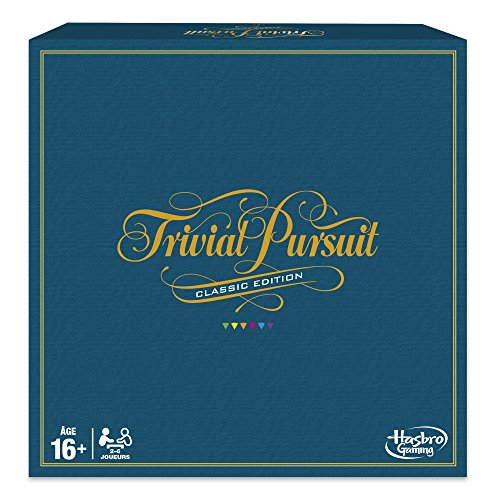 Trivial Pursuit - Jeu de societe Trivial Pursuit Classique - Jeu de réflexion - Version française