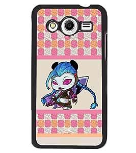 Printvisa 2D Printed Designer back case cover for Samsung Galaxy Core 2 G355H- D4411
