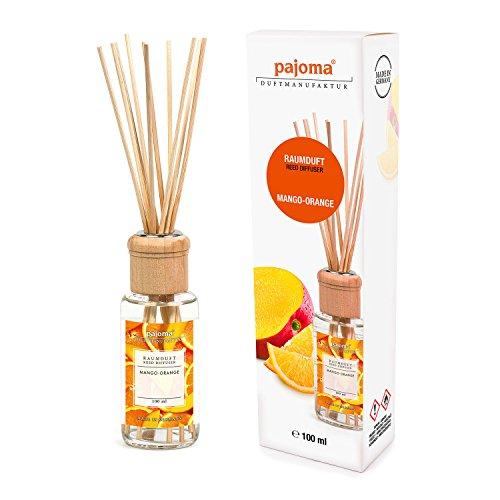 Pajoma Raumduft Mango-Orange, 1er Pack (1 x 100 ml) in Geschenkverpackung (Mango-duft)