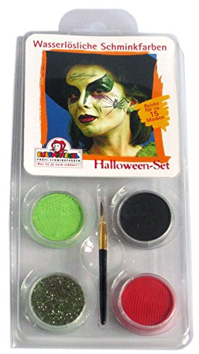 Eulenspiegel 204337 - Motiv-Set Halloween (Halloween Ideen Airbrush-make-up)