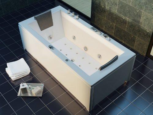 Luxus Whirlpool Badewanne 182x90 im Vollausstattung (Massage) - Sonderaktion - 3