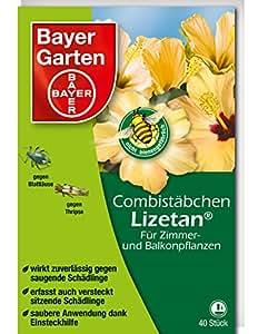 Pesticide Bayer 81693005, 40bâtonnets Lizetan, multicolores, 22x17x8cm