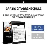 Gitarrensaiten Konzertgitarre ★ TESTSIEGER 2019¹ ★ Premium Nylon Saiten für klassische Gitarre & Akustikgitarre (6 Saiten-Set) + E-Book - 2