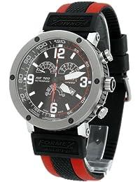 Formex 4 Speed 7201.4021/RBRD - Reloj de caballero de cuarzo, correa de silicona color varios colores