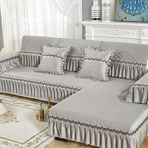 Funda de sofá, Funda de sofá con Funda Deslizante, Cojín de sofá...