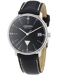 Junkers Damen-Armbanduhr XS Bauhaus Analog Quarz Leder 60712