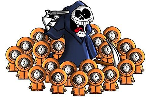 Pull Culture Geek - Parodie Kenny de South Park - The parody of the Dead :) - Pull Noir - Haute Qualité (662) Noir