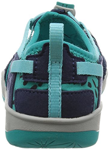 Keen SEACAMP II CNX T-ENSIGN BLUE/CAMELLIA RO 1010091 Unisex-Kinder Sandalen dress blue/viridian